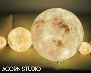 收藏月球表面!極仿真版月球燈
