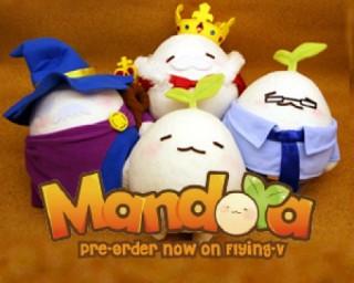 Mandora第一波周邊商品製作計畫